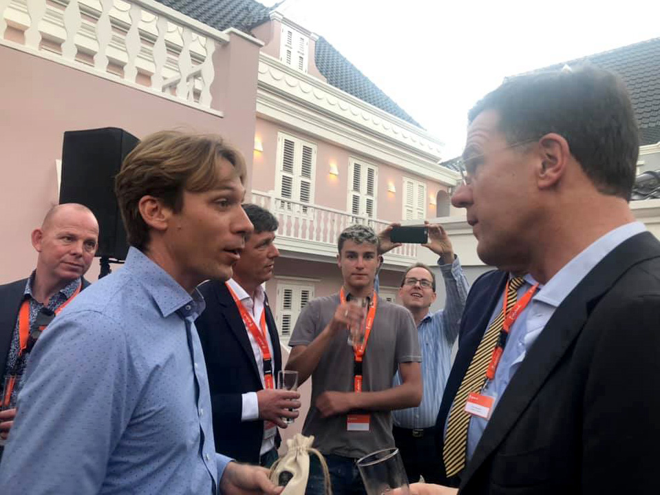 Prime Minister Rutte in Scharloo Abou
